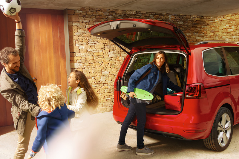 SEAT Alhambra in beeld